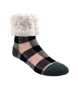 Pudus Classic Slipper Socks Lumberjack Blush
