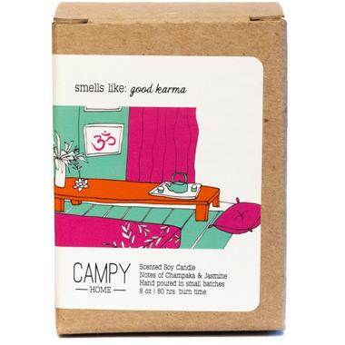 Campy Smells Like: Good Karma Soy Candle