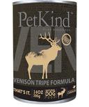 PetKind Venison Tripe Formula Natural Dog Food