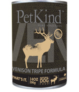 PetKind Venison Tripe Formula Natural Dog Food