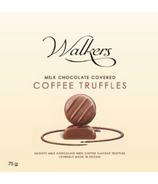Walker's Chocolates Milk Chocolate Coffee Truffles