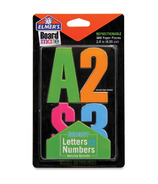 Elmer's Bright Letters & Numbers Stickers