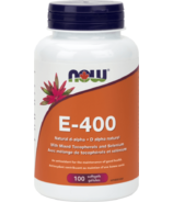 NOW Foods SUN-E 400 IU Vitamin E Softgels