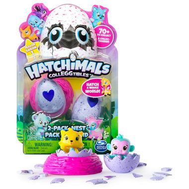 Hatchimals CollEGGtibles 2 Pack + Nest