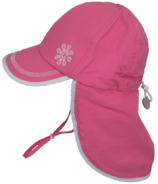 Calikids Long Back Quick-Dry Cap Hot Pink