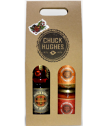 Chuck Hughes Giftbox Maple Syrup, Spicy Antipasto, Hot Pepper Spread