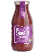 Rudolfs Organic Blueberry Strawberry Smoothie Peaceful