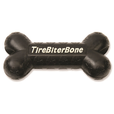 Mammoth Large 7.25 Inch TireBiter Bone with Treat Pocket