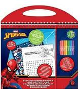 greenre Eco-Marvel Spiderman Travel Size Activity Set