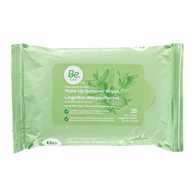 Be Better Nautral All-in-One Make-Up Remover Wipes