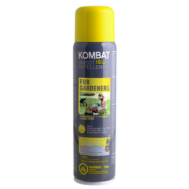 Kombat for Gardeners Insect Repellent