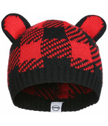 Kombi The Cutie Hat Infant Red Buffalo Plaid