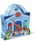 Crocodile Creek 48-Piece Day at the Museum Puzzle Dinosaur
