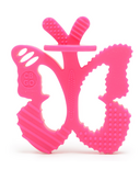 Chewbeads Chewpals Teether Fuchsia Butterfly