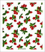 Ten & Co. Swedish Sponge Cloth Vintage Fruits Cranberry