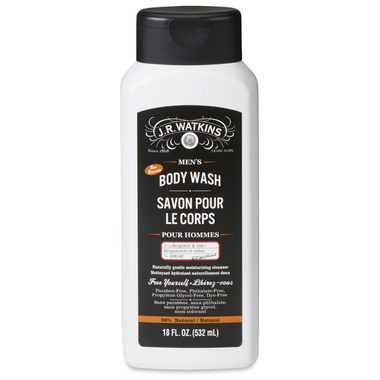 J.R. Watkins Men\'s Bergamot & Oak Body Wash