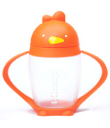Lollacup Straw Sippy Cup Happy Orange