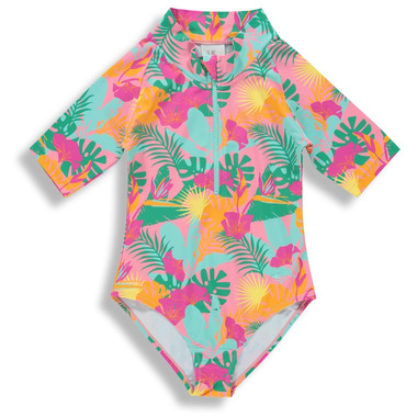 BIRDZ Children & Co. Surfer Swimsuit Pink Jungle