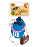 M&M's Jumbo Luggage Tag