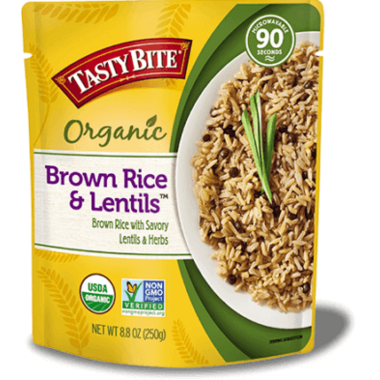 Tasty Bite Brown Rice & Lentils