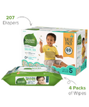 Seventh Generation Size 5 Diapers & Wipes Bundle