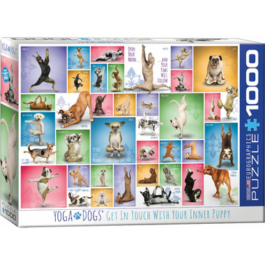 Eurographics Yoga Dogs Puzzle