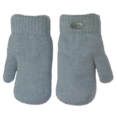 Calikids Cashmere Touch Mitten Grey