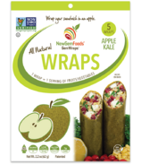 NewGem Foods GemWraps All Natural Wraps Apple Kale