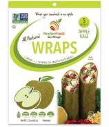NewGem Foods GemWraps Roulés Entièrement Naturels Pomme Chou Frisé