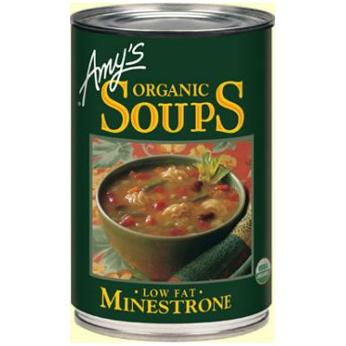 Amy\'s Organic Minestrone Soup