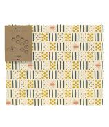Mind Your Bees Wraps Modernism Bread/XL Wrap