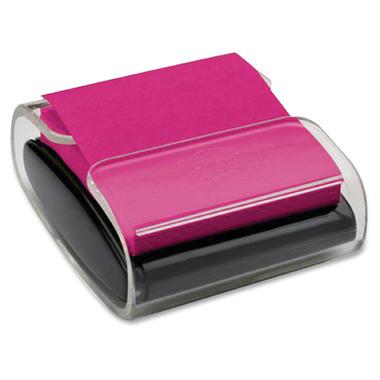 Post-it Colour Super Sticky Pop-Up Notes Dispenser Black