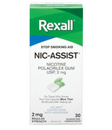Rexall Nic-Assist Nicotine Gum Regular Strength 2 mg Ice Mint