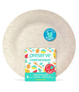 Preserve Compostables Small Plates Natural