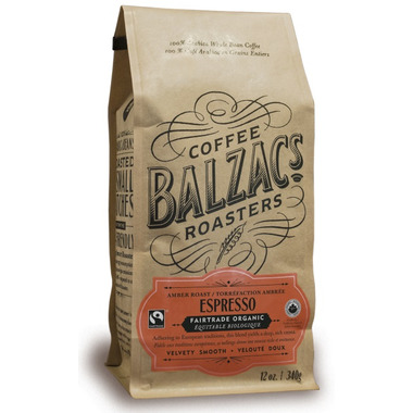 Balzac\'s Coffee Whole Bean Espresso Blend