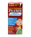 Tylenol Infants' Fever & Sore Throat Pain Suspension Drops