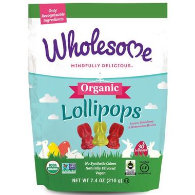 Wholesome Sweeteners Organic Bunny Lollipops