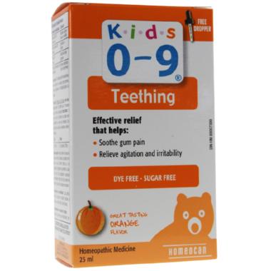 Homeocan Kids 0-9 Teething Oral Solution