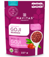 Navitas Naturals Organic Dried Goji Berries