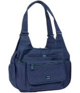 Lug Romper Shoulder Bag Navy Blue