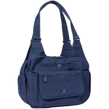 Lug Romper Shoulder Bag Navy Blue