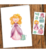 PiCO Temporary Tattoos Princess Card & Tattoos