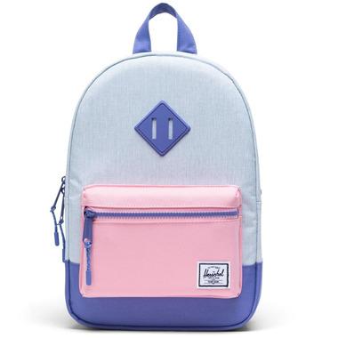 Herschel Supply Heritage Kids Ballad Blue, Candy Pink & Dusted Peri