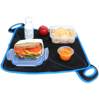 FlatBox Lunch Bag Original Black Blue