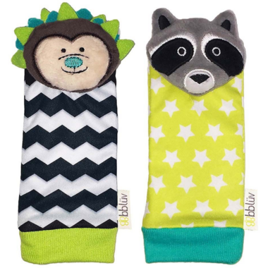 bbluv Duo Foot Finders Hedgehog & Racoon