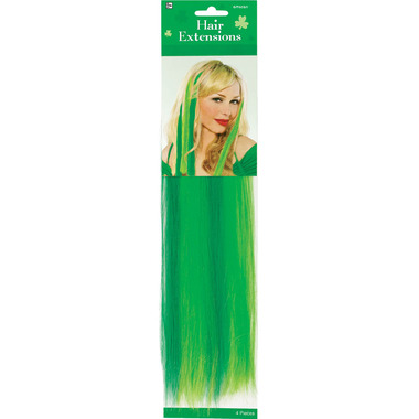 St. Patrick\'s Day Hair Extensions