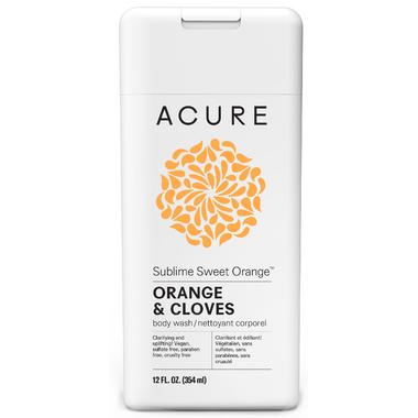 Acure Sublime Sweet Orange Body Wash