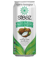 Steaz Organic Iced Green Tea with Coconut Water