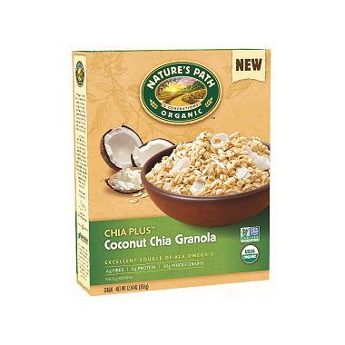 Nature\'s Path Organic Chia Plus Coconut Chia Granola