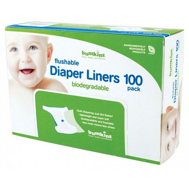 Bumkins Flushable Biodegradable Diaper Liners
